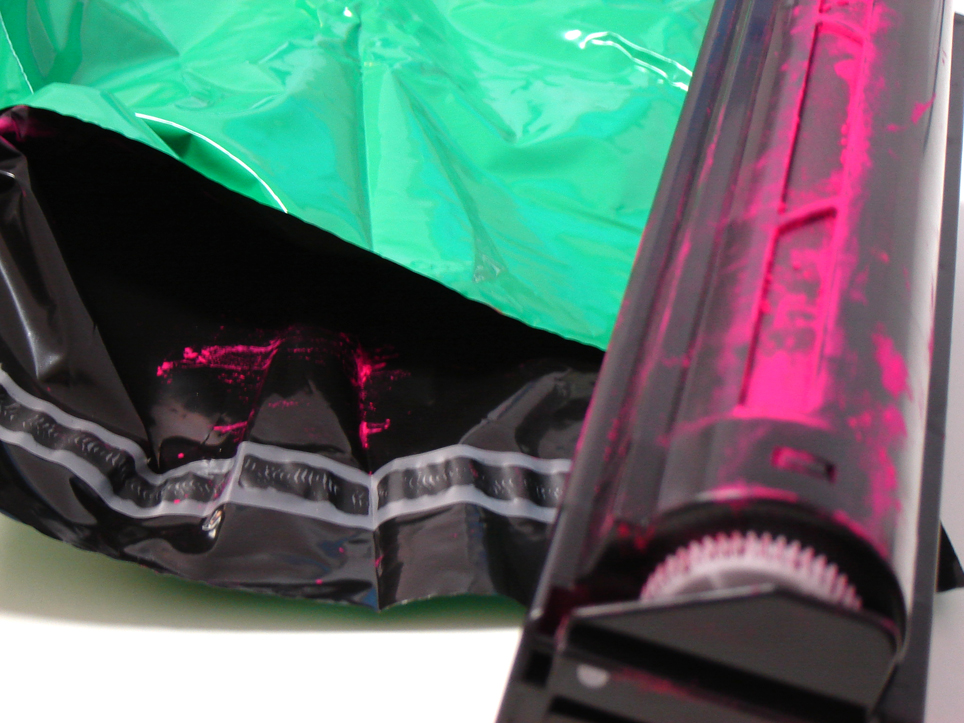 een inktcartridge